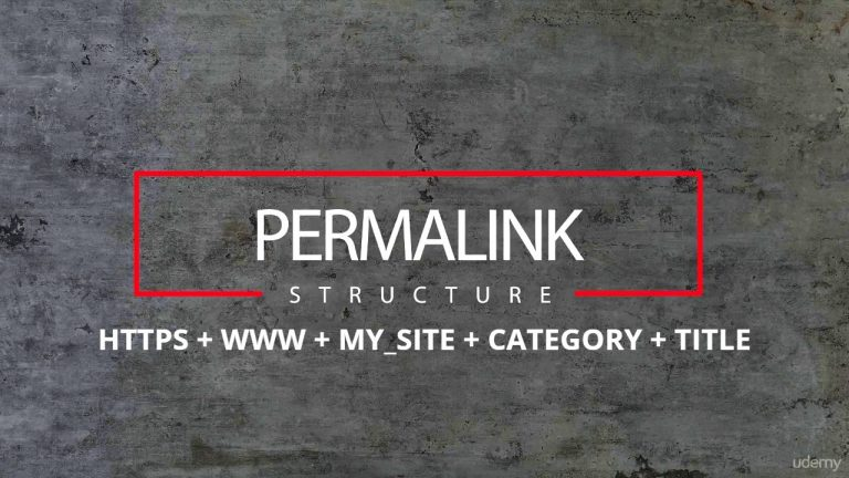 permalinks structure